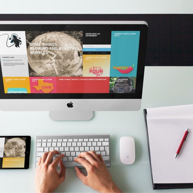 Earnest Labs - Bespoke WordPress Build