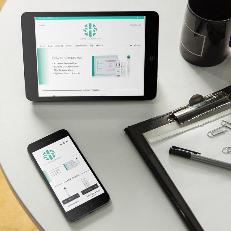 Ecommerce Wordpress Design - Hampshire