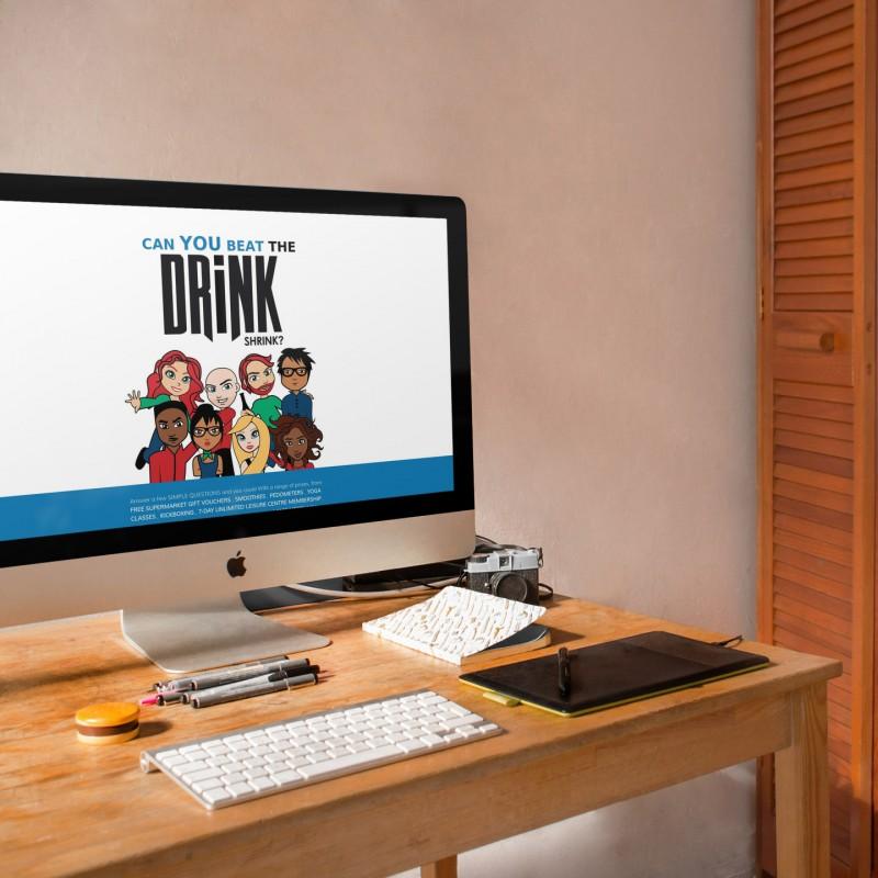 The Drink Shrink - Bespoke WordPress Design